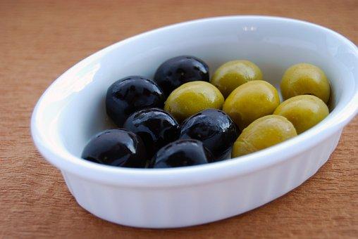 Food, Olive, Cuisine, Gourmet, Italian, Green, Back