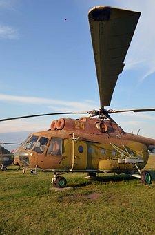 Mi-8, Helicopter, Field, Rakurs, Screw, The Blade