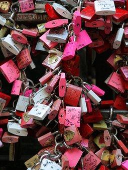 Verona, Romeo, Julietta, Locks, Love, Pairs, Wedding