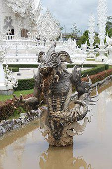 Daemon, Water, Temple