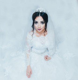 Woman, Bride, Wedding, Beautiful, Ring, Gown, Dress