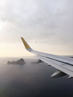 Plane, Travel, Wings, Trip, Flying, Rock, Formation