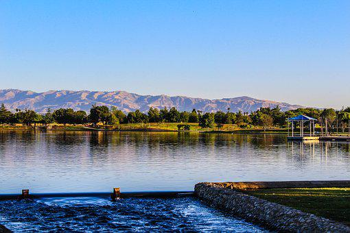 Balboa Lake, Water, Lake, California, Outdoor, Summer