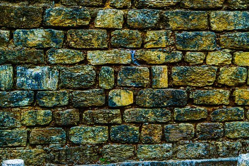 Stone Wall, Brick Wall, Backgrounds