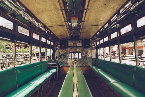 Passenger, Vehicle, Transportation, Sit, Commute, Bus