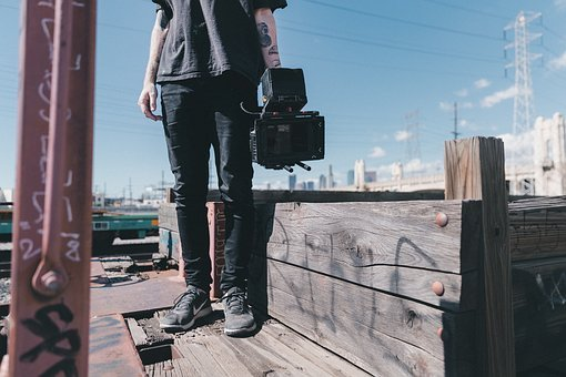 People, Man, Guy, Camera, Alone, Photo, Lens