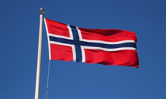 Norwegian Flag, Emblem, Norwegian, Symbol, Flag