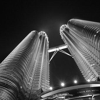 Petronas Towers, Kuala Lumpur, Malaysia, Buildings