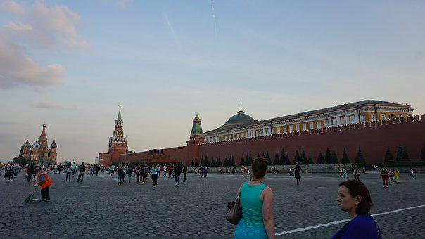 Red Square, Moscow, Red, Russia, Square, City, Kremlin