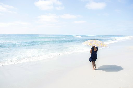 Beach, Coast, Sand, Summer, Sea, Water, Vacation
