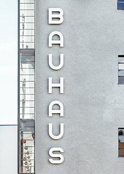 Bauhaus, Text, Letter, Font, Kerning, Building