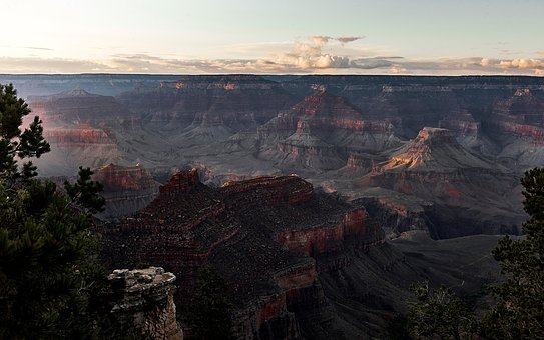Grand, Canyon, Mountain, View, Landscape, Nature, Peak