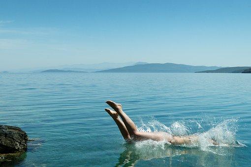 People, Woman, Swim, Hobby, Sport, Water, Ocean, Sea