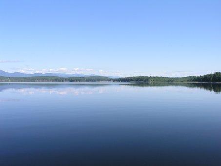 Maine, Lovell, Pond, Lake