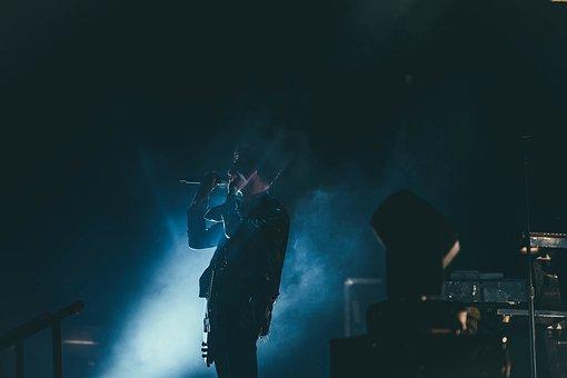 People, Man, Guy, Rock, Concert, Song, Sound, Spotlight