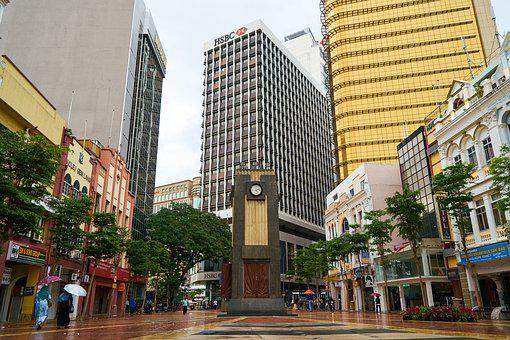 Malaysia, Kuala Lumpur, Architecture, Square, Central