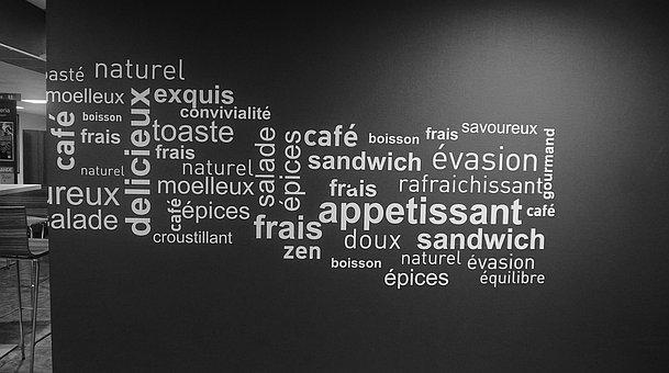 Wall, Print, Write, Product, Words, Order, Menu, Chair