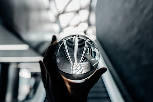 Glass, Escalator, Bokeh, Hand, Blur, Round, Transparent