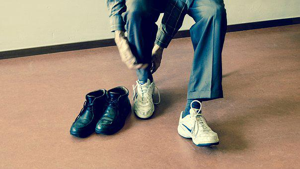 People, Shoes, Rubber, Sport, Exercise, Leather, Boots