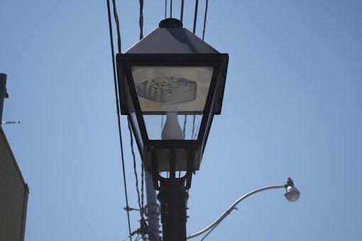 Street, Light, Cables, Streetlight, Lamp, Urban, City