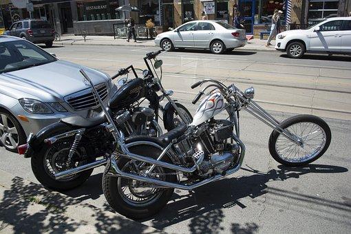Motor, Car, Mercedes, Motorcycle, Vehicle, Bike, Bikes