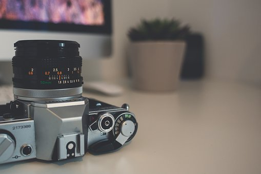 Camera, Film, Vintage, Lens, Old, Photography