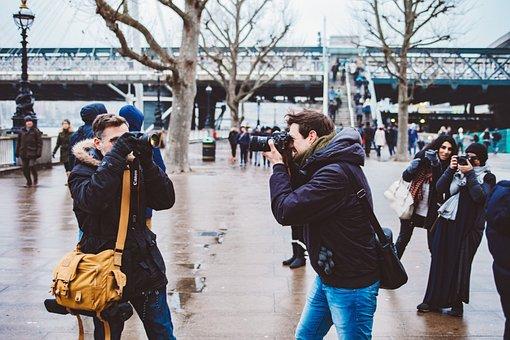 People, Man, Woman, Camera, Canon, Photographer, Lens
