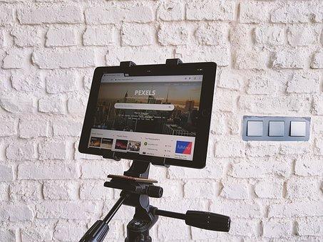 Technology, Tablet, Tripod, Pexels, Website, Design