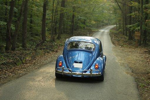 Volkswagen, Vintage, Car, Transportation, Travel