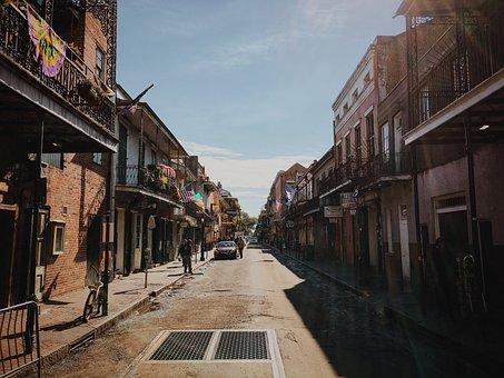 Street, Road, Architecture, Houses, Establishment, Car