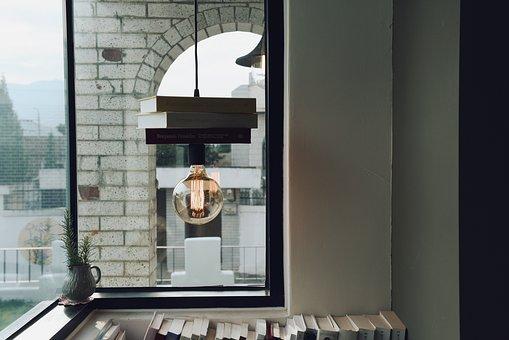 Bulb, Light, Architecture, Art, Design, Books