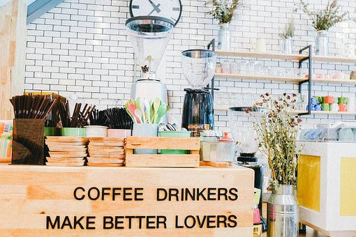 Coffee, Bean, Seed, Black, Cafe, Wood, Hot, Mug, Cup