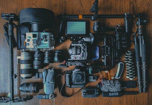 Camera, Gear, Photoshoot, Photo, Video, Lens, Light