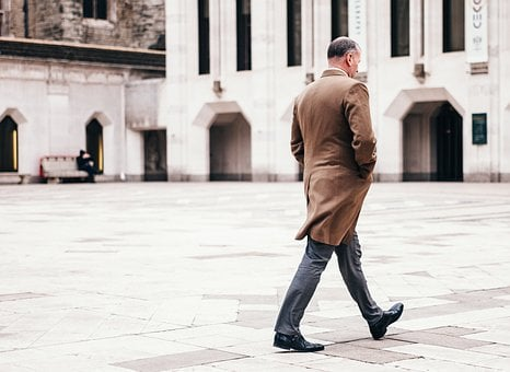 People, Man, Coat, Formal, Classy, Old, Architecture