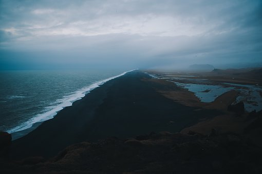 Ocean, Sea, Wave, Clouds, Sky, Rocks, Formation, Travel