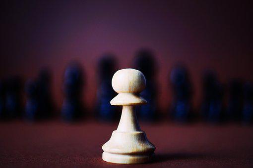 Piece, Chess, Game, Black, White, Pawn