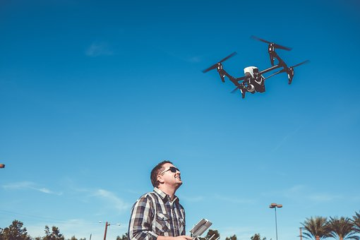 Flying, Camera, Drone, Gadget, Technology, Aerial