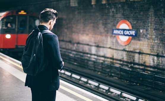 People, Man, Train, Station, Travel, Alone, Adventure