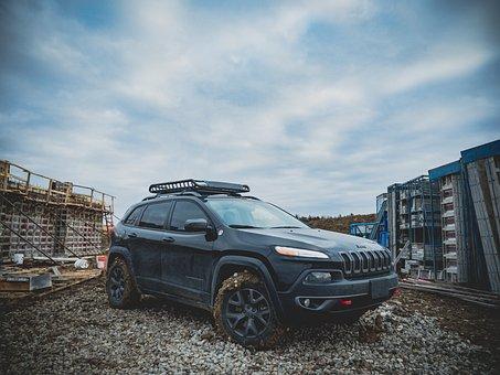Car, Vehicle, Wheels, Bumper, Construction
