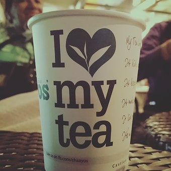 Tea, Hot, Coffee, Cup, Paper Cup, Table, Love, Chill