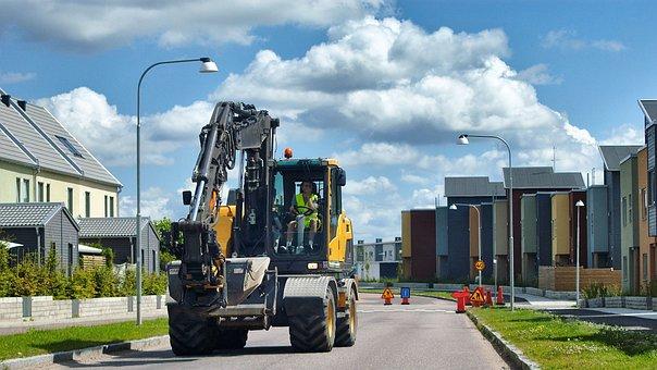 Construction, Vehicle, Construction Vehicle, Machinery