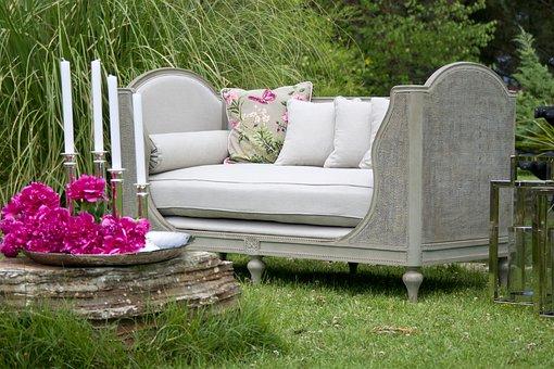 Armchair, Garden, Grass, Home, Furniture, Beautiful