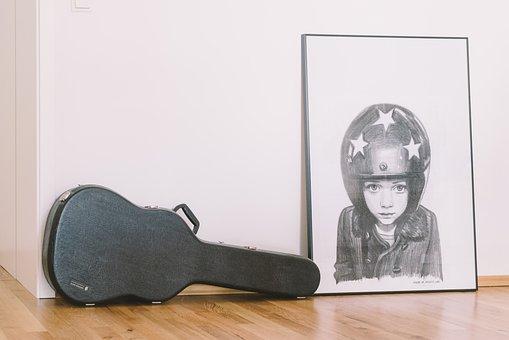 Hard Case, Guitar, Sound, Music, Acoustic, Pain