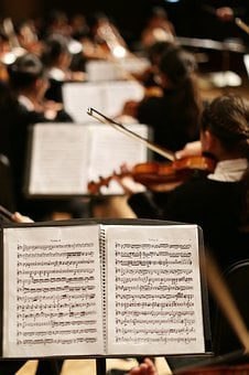 Music, Piece, Notes, Song, Sound, Orchestra, Violin
