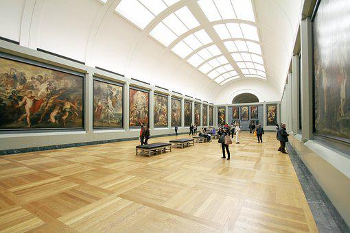 People, Museum, Art, Appreciate, Aesthetics, Painting