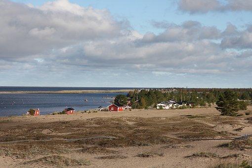 Kalajoki, Sandbanks, Tourist Spot, Sand, Sea, Seaside