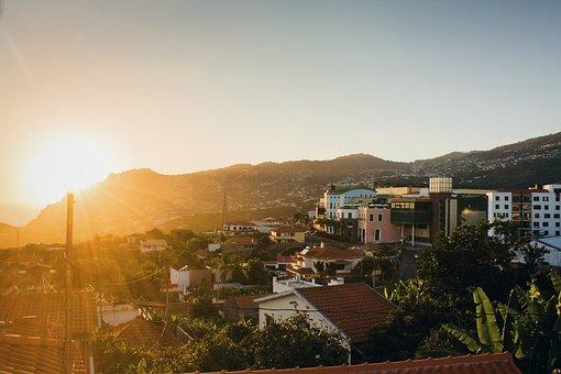 Sunset, Building, Establishment, Architecture, Sun