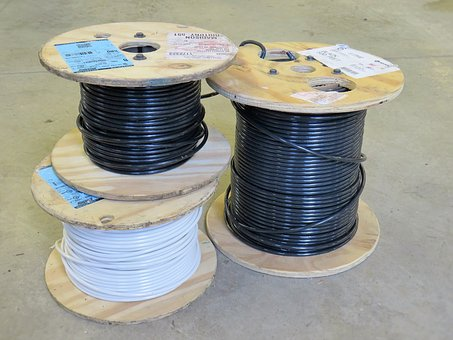 Wire, Spool, Electric, Electrical, 6, Six, 8, Eight