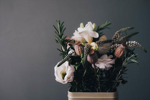 Flowers, Centerpiece, Arrangement, Decor, Decoration