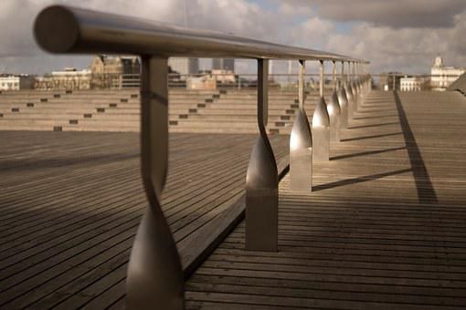 Banister, Reel, Urban, Skateboard, Shadow, Empty